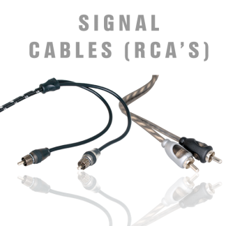 Signal Cables (RCA's)