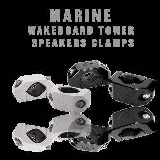 Marine Wakeboard Tower Speaker Clamps