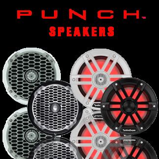 Marine Punch Speakers