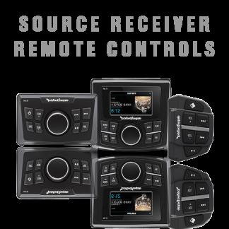 Source Receiver Remote Controls